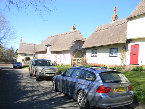 Thatched cottages, Wendens Ambo