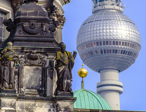 Old and new in Berlin