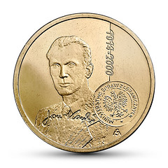 Poland  2 Zloty on Jan Karski