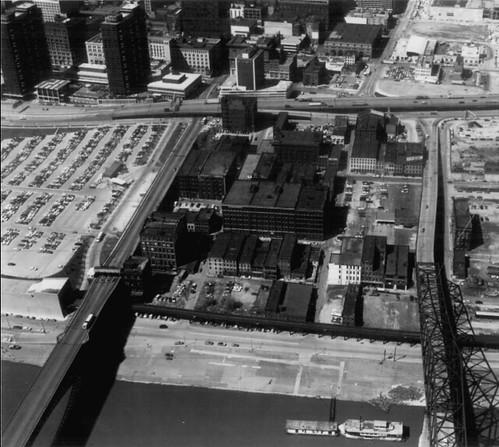 Landing aerial 1967