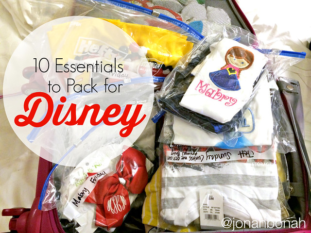10 Essentials for Disney