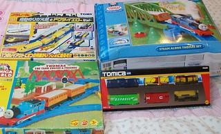 Tomy Thomas Train Set Tomy Thomas Amp Tomica Train