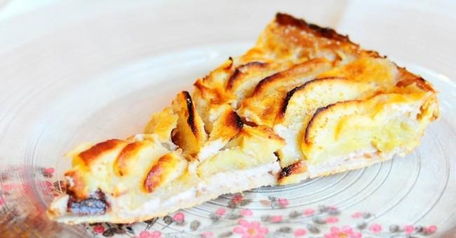 Švýcarský jablečný koláč