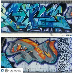 #Repost @graffroots with @repostapp. ・・・ #graffrootscrew x #cube x #saezo @the_vermontart_district
