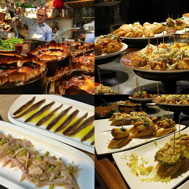 San Sebastian food 1