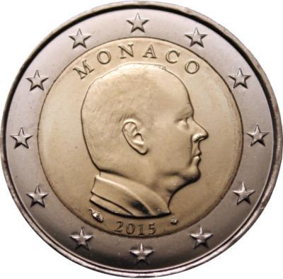 2 Euro Monako 2015