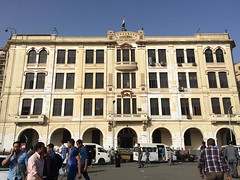 #Egypt's State Railways building in #Downtown #Cairo #Citizenjournalism #blogger #Cairowalks #ThisisEgypt