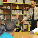 January 31, 2012 - 21:57 - Sheriff B.J. Roberts visited the Young Gentleman's Club of Booker Elementary School made up of 4th and 5th graders. Sheriff Roberts delivered a message on the workings of city and state government to the curious young men. Sheriff fielded questions for more than 30 minutes.