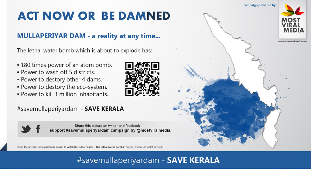 Act Now Or Be Damned - Save Mullaperiyar Dam Campaign - Damaged