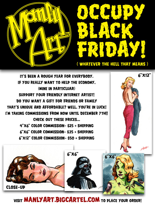 Manly Art: Occupy Black Friday!