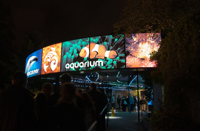Vancouver Aquarium entrance