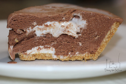 S'more ice-cream pie