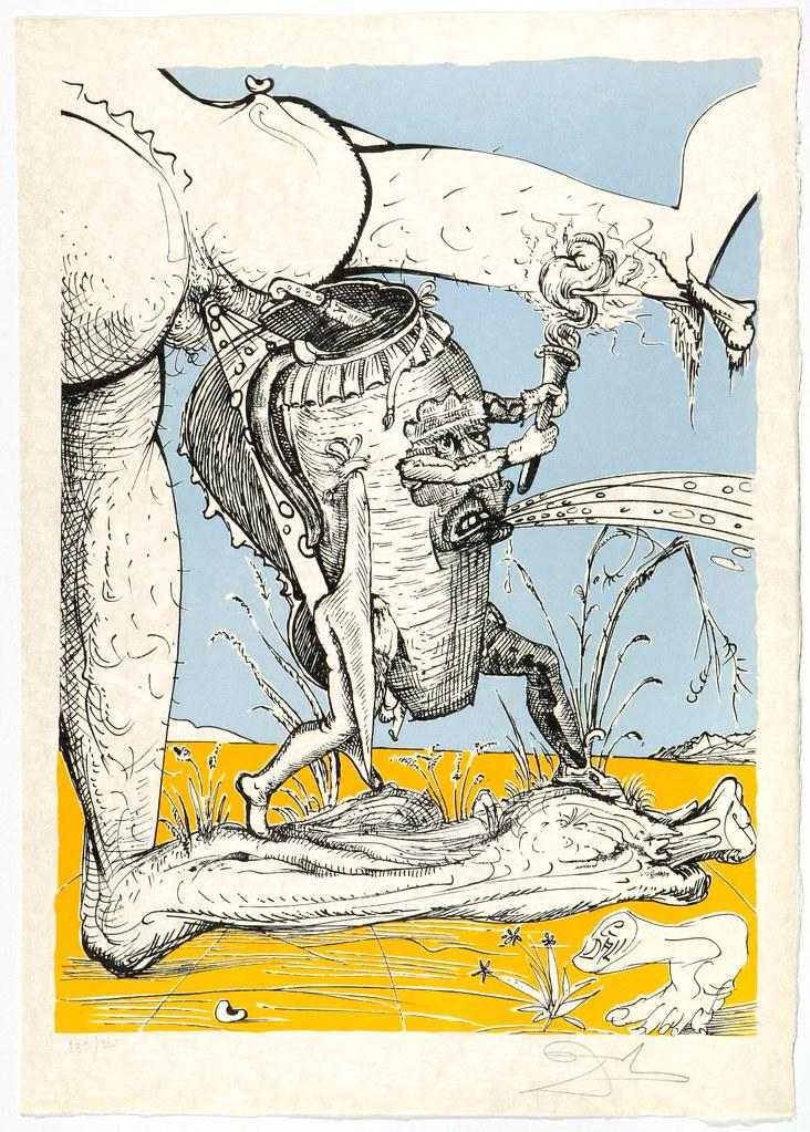 Salvador Dali - Pantagruel 7 (1974)