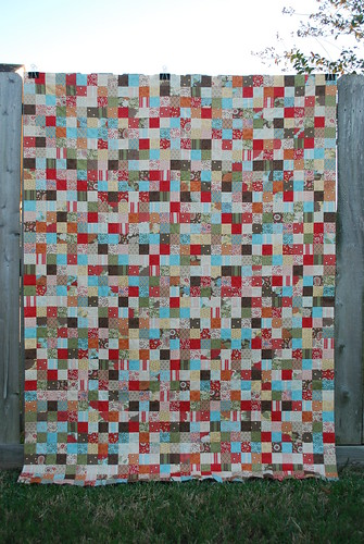 Simple Abundance Postage Stamp Quilt
