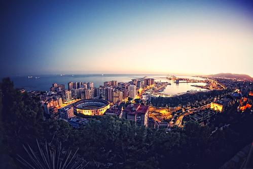 Málaga by Molinafucker
