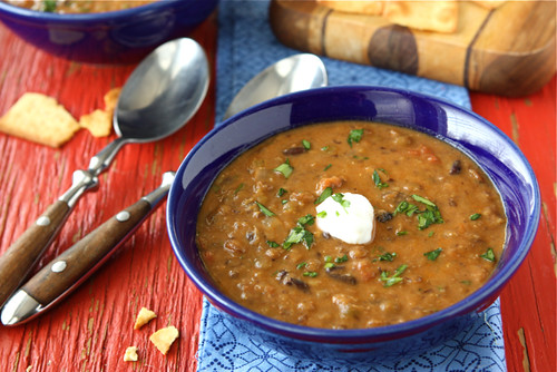 Hearty-Lentil-&-Black-Bean-Soup-with-Smoked-Paprika-Recipe-4-Cookin-Canuck
