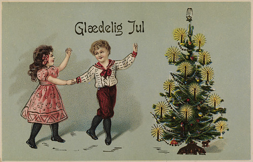 Glædelig Jul, ca 1910