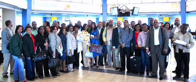 Delegación RD a V Congreso Derecho Cooperativista , Panamá