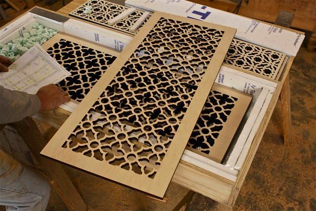 Moroccan Laser Cut Doors Panals Flickr Photo Sharing