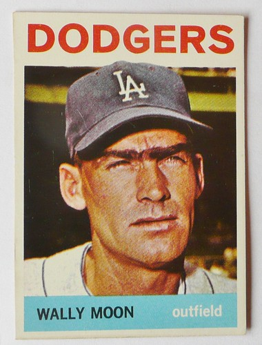 WALLY MOON LOS ANGELES DODGERS 1964