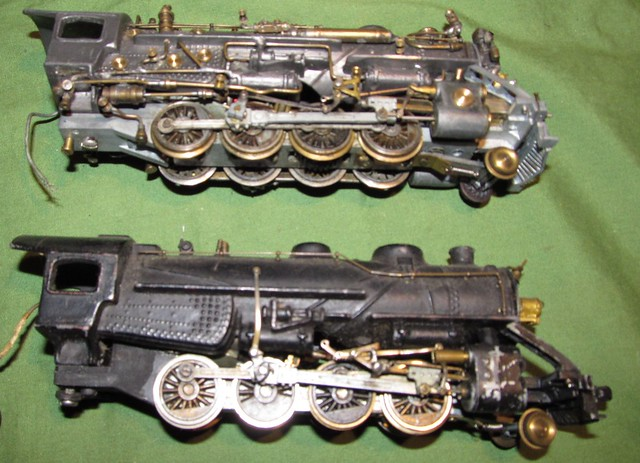 Ho scale locomotive collection