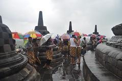Torna a ploure i els turistes comencen a marxar