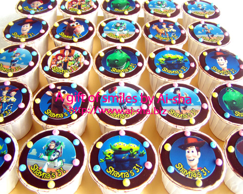 Birthday Cupcakes Edible Image Toys Story