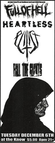 10/6/11 FullofHell/Heartless/Elitist/FallTheGiants