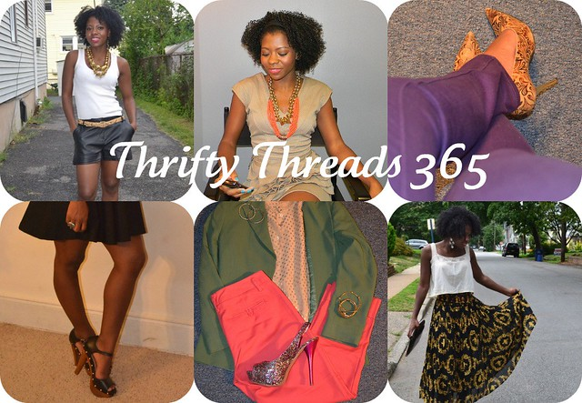 Thrifty Threads 365, looking fly on a dime