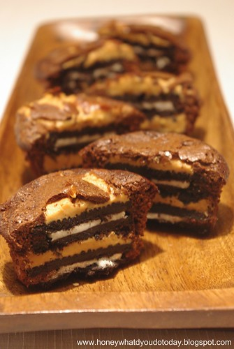 Peanut Butter Oreo Brownies by SashaWarner