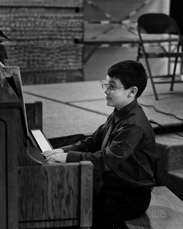 The Junior Musical Recital.