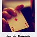 Small photo of Ace of diamonds