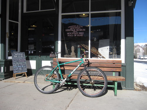Finally rode my bike in Crested Butte