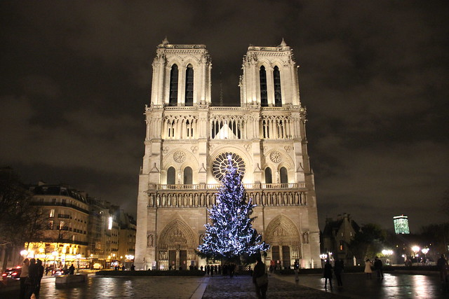 Notre dame with christmas decor flickr photo sharing for Notre dame home decor