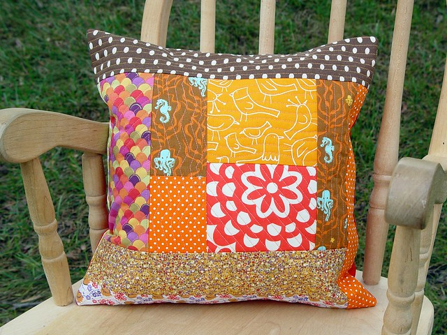 Little Scrap Pillow