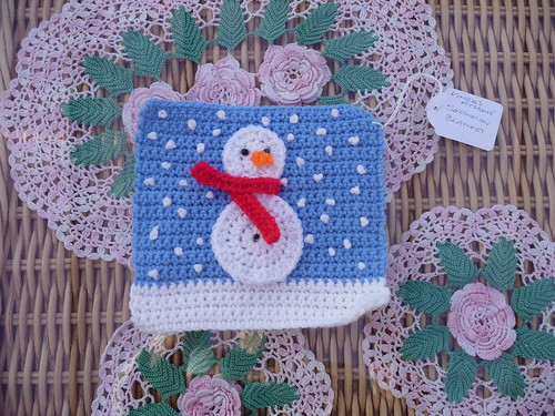 Kimbles at Home (UK) Your Snowman Square has arrived! Thank you!