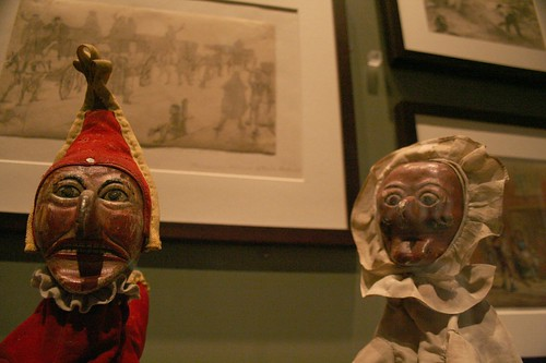 Punch and Judy dolls