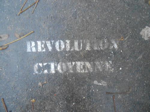 Paris Dec. 2011 Révolution citoyenne