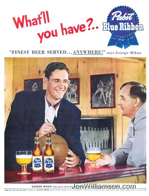 Pabst-1950-George-Mikan