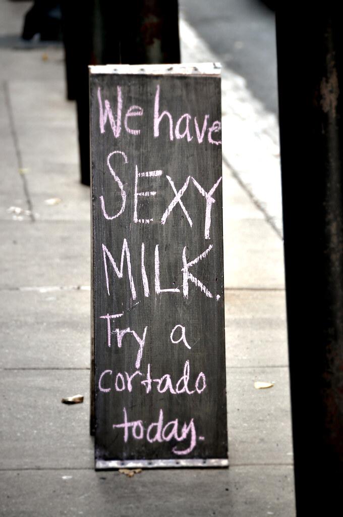 Gimmie 'Sexy Milk'