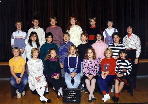 Fifth Grade Class Ms Hummel