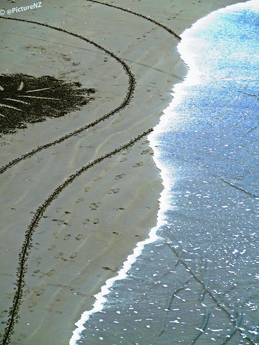The Tide Resets The Sand Artist's Canvas