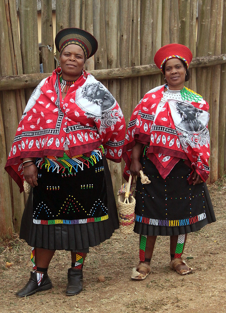 south africa - zulu reed dance ceremonyZulu Culture Clothing