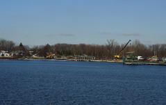 Work on Dam 1
