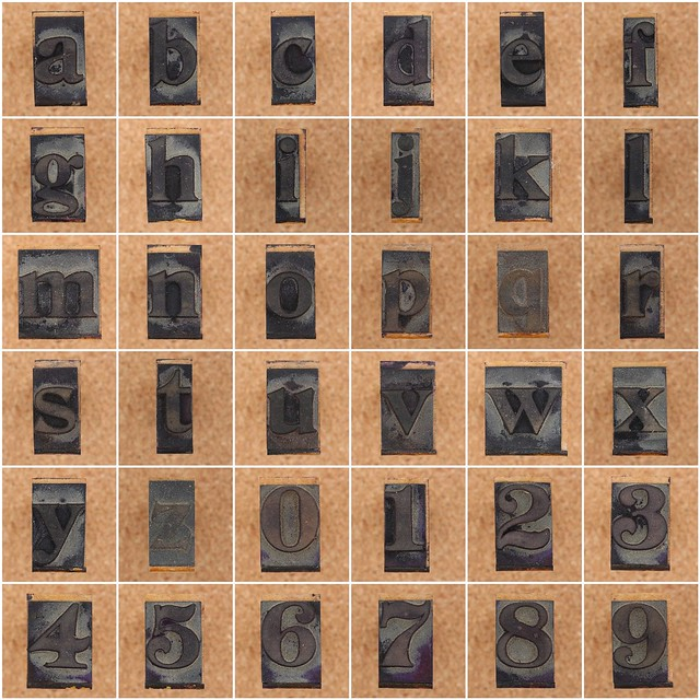 rubber stamp letters and numbers flickr photo sharing With rubber stamp letters and numbers