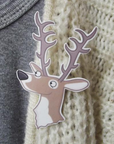 deer cardi