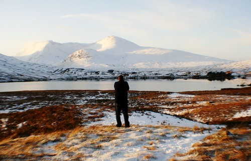 Photographing Rannoch Moor