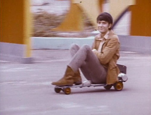 The Monkees - motorized skateboard