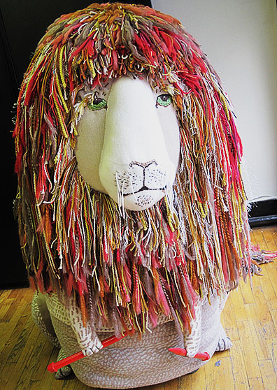 Knitting Lion
