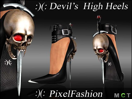 Devil 's High heels, 450 lindens by Cherokeeh Asteria